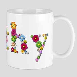 Kathy Bright Flowers Mugs