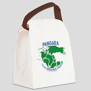Pangaea: The original Puzzle Canvas Lunch Bag