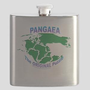 Pangaea: The original Puzzle Flask