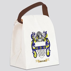 Pavlik Coat of Arms (Family Crest Canvas Lunch Bag