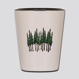OLD GROWTH Shot Glass