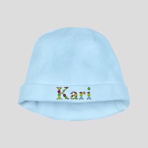 Kari Bright Flowers baby hat