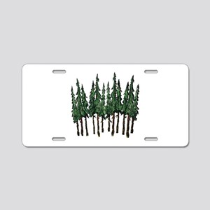 OLD GROWTH Aluminum License Plate