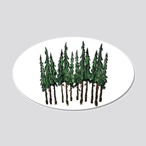 OLD GROWTH Wall Decal