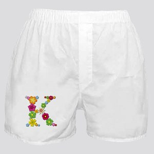 K Bright Flowers Boxer Shorts