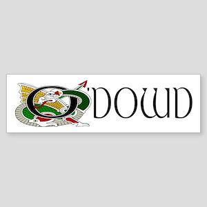 O'Dowd Celtic Dragon Bumper Sticker