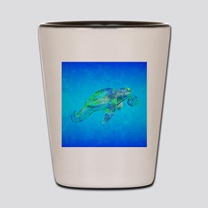 Sea Turtle Wave Shot Glass