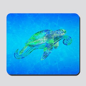 Sea Turtle Wave Mousepad