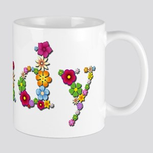 Judy Bright Flowers Mugs