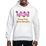 Mom Paycheck Hooded Sweatshirt