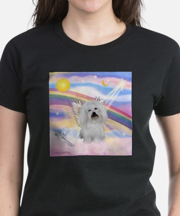 Clouds & Coton De Tulear Ash Grey T-Shirt