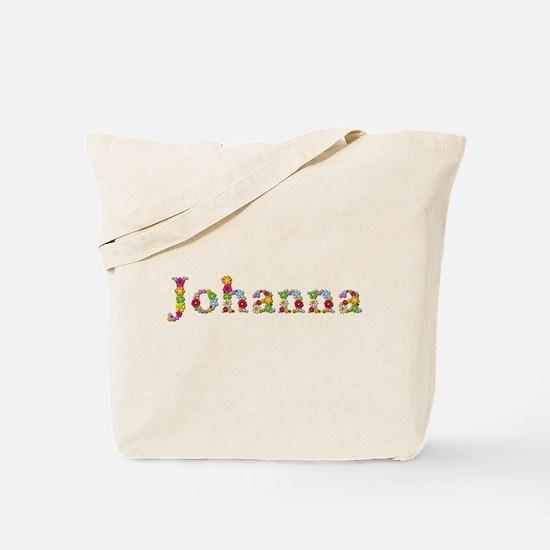 Johanna Bright Flowers Tote Bag