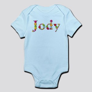 Jody Bright Flowers Body Suit