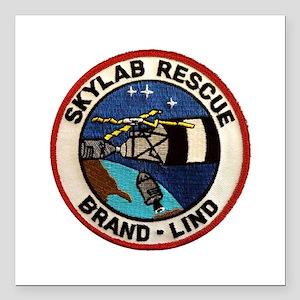 "Skyland Rescue Mission Square Car Magnet 3"" x 3"""