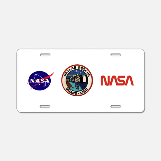 Skyland Rescue Mission Aluminum License Plate