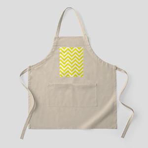 Yellow and White chevrons 1 Apron