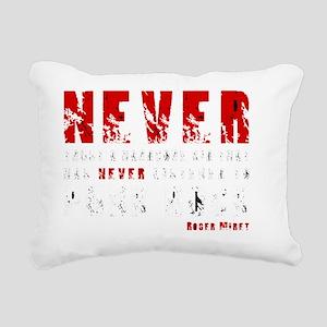 Never trust a hardcore k Rectangular Canvas Pillow