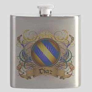 Diaz Family Crest Flask