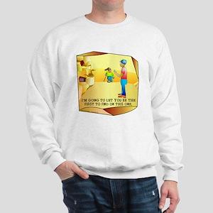 Geocaching First to Find Sweatshirt