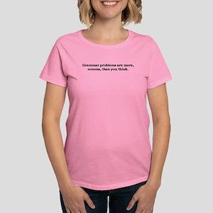 Comma Grammar Problem-1 T-Shirt