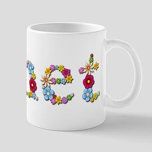 Janet Bright Flowers Mugs