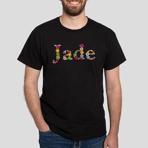 Jade Bright Flowers T-Shirt