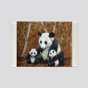 StephanieAM Panda and Cubs Magnets