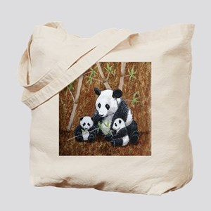 StephanieAM Panda and Cubs Tote Bag