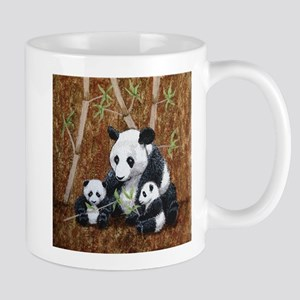 StephanieAM Panda and Cubs Mugs