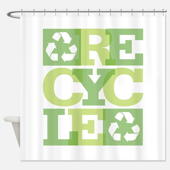 Recycle Shower Curtain