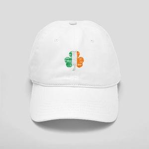 Vintage Irish Flag Shamrock Baseball Cap