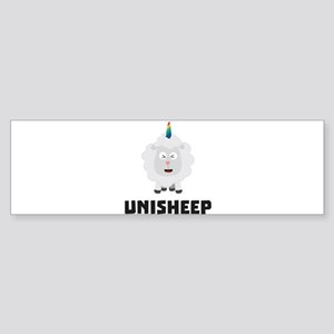 Unicorn Sheep Unisheep C4txe Bumper Sticker