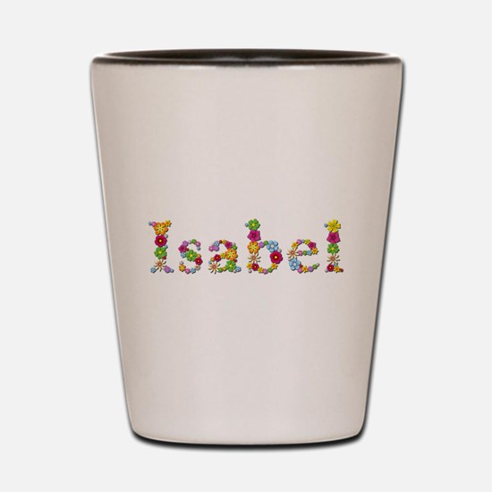 Isabel Bright Flowers Shot Glass