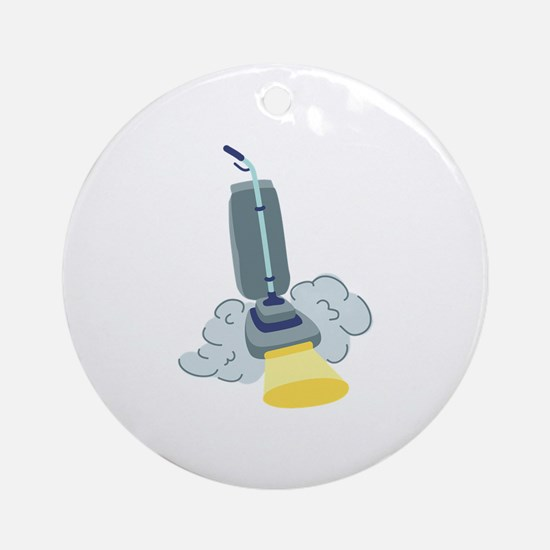 Vacuum Clean Ornament (Round)