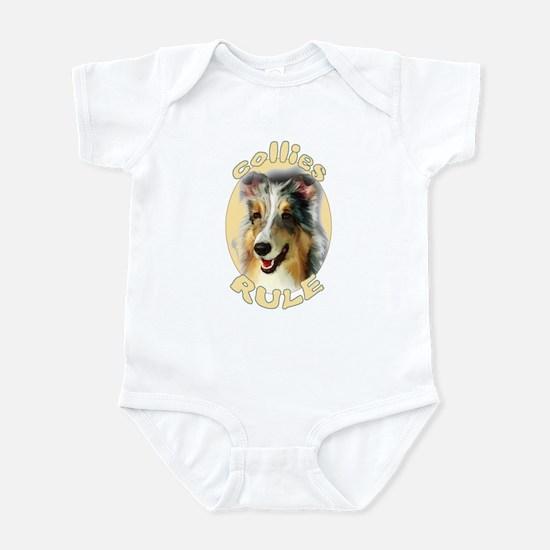 collies rule Infant Bodysuit
