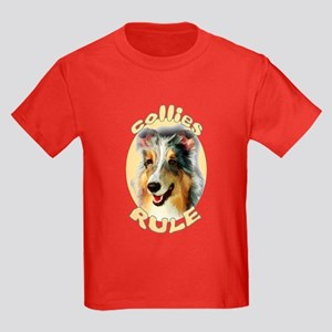 collies rule Kids Dark T-Shirt