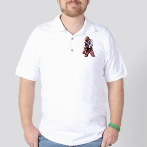 Uncle Sam Alone Golf Shirt