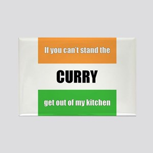 Curry Lover Rectangle Magnet