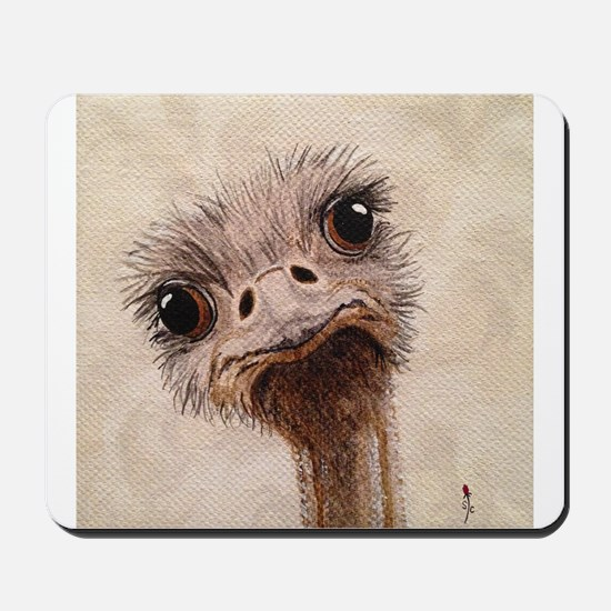 StephanieAM Ostrich Mousepad
