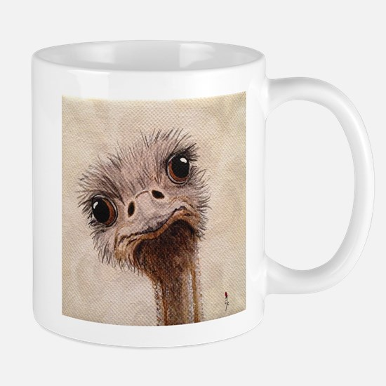 StephanieAM Ostrich Mugs