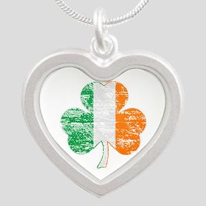 Vintage Irish Flag Shamrock Necklaces