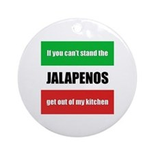 Jalapeno Lover Ornament (Round)