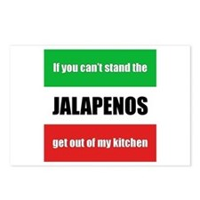 Jalapeno Lover Postcards (Package of 8)