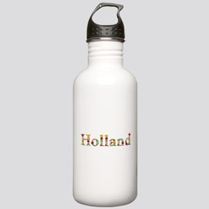 Holland Bright Flowers Water Bottle