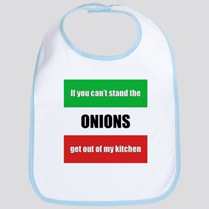 Onion Lover Bib