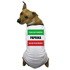 Paprika Lover Dog T-Shirt