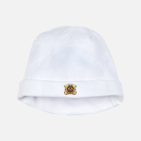 Lopez Family Crest baby hat