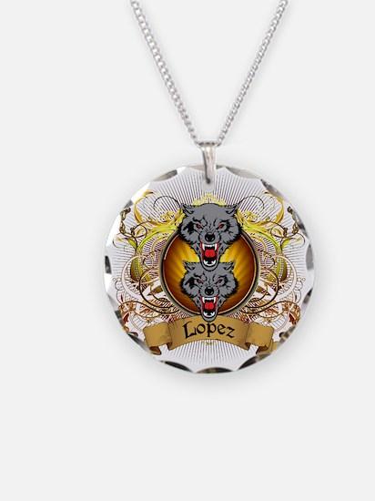 Lopez Family Crest Necklace