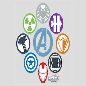 Avengers Icons Wall Art