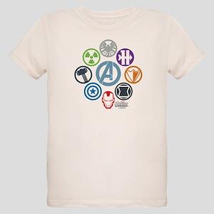 Avengers Icons Organic Kids T-Shirt